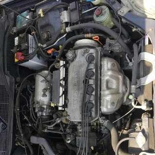 Honda Ek 1.5 Single Cam Vtec Halfcut
