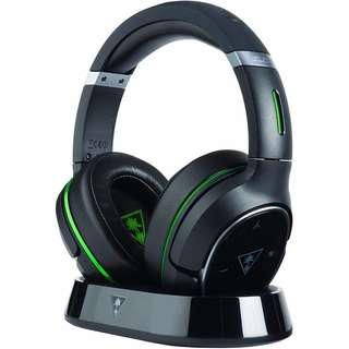 Turtle Beach - Ear Force Elite 800X Premium Fully Wireless Gaming Headset - DTS Headphone:X 7.1 Surround Sound - Noise Cancellation- Xbox One, Mobile Devices