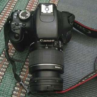 kamera camera canon 600 D full set mulus tag slr dslr foto photo cam