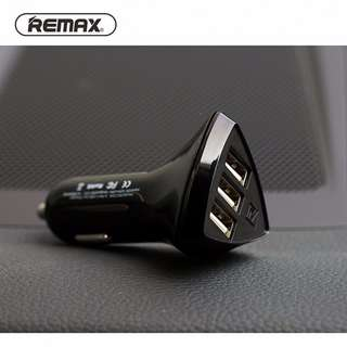 Remax Aliens 3 Car Charger - COD Available -  1 Year Local Supplier Warranty