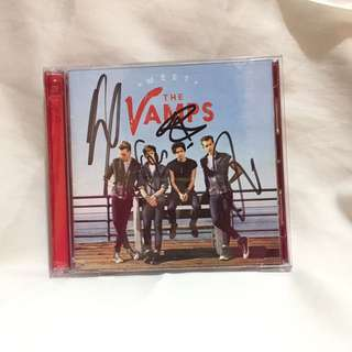 MEET THE VAMPS (SIGNED ALBUM)