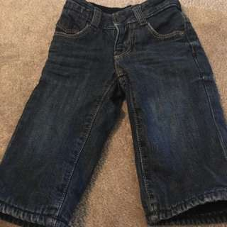 Baby Gap jeans - 0 to 3 months