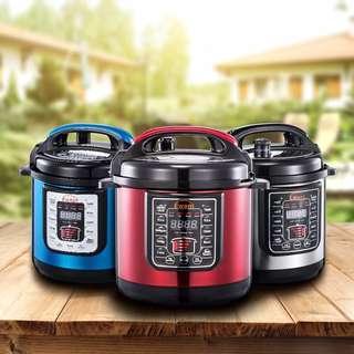 Ewant YBD6-100 8-in-1 Multi-Functional Electric Pressure Cooker 6L - 1 Year Local Supplier Warranty
