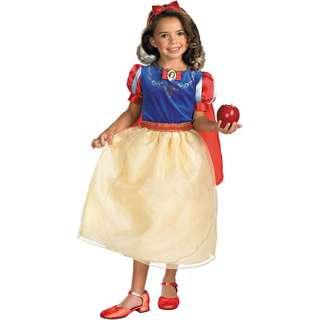 Morris Costumes Girl's Snow White Deluxe Dress Costume Toddler 7-8. DG50568K