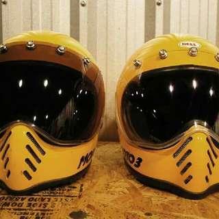 Visor For Bell Moto 3 Helmets.