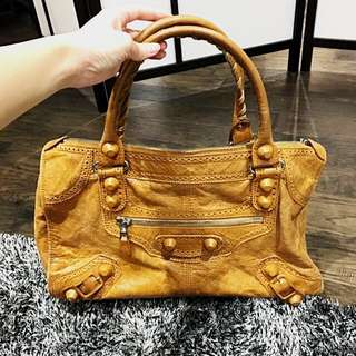 Reduced!! Large Balenciaga Leather Purse