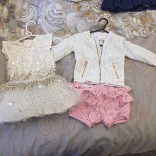 Baby size 0 bundle  pumpkin patch, kardashian kids, dymples