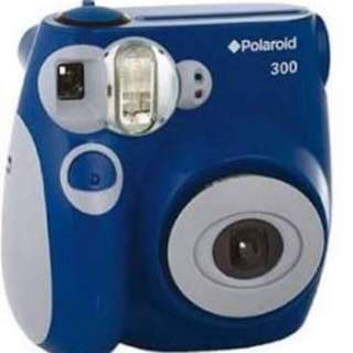 Polaroid instax mini blue and grey camera