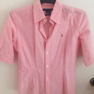 Ralph Lauren Pink Short Sleeve Short