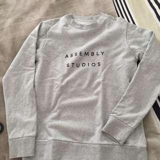 Assembly studios crew neck