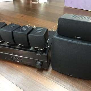 Yamaha 5.1 AV Receiver RX-V367