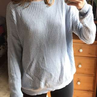 Brandy Melville Blue Sweater