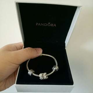 Pandora 17cm Bracelets and Charms