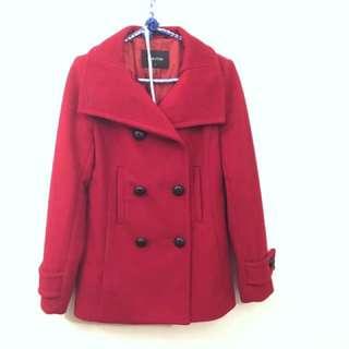 Babaton Wool Coat, size small