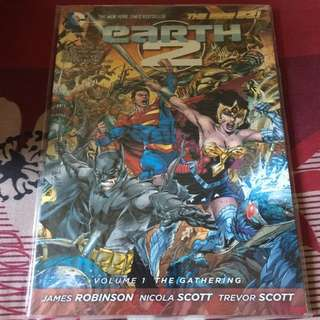 Earth 2 volume 1 new 52 series