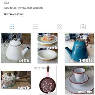 Perlengkapan Dapur follow IG pawon_lucu