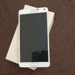 Samsung Note 4 SME White