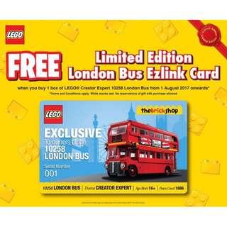 WTB: The Brick Shop LEGO 10258 Ez-Link Serial 001