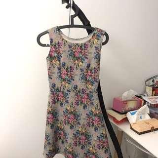 Floral Mosaic Dress