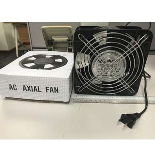 Industrial 220V cooling axial fans 14x14cm