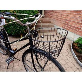 Black Cruiser Bicycle (Vintage)