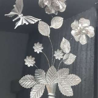 Real silver panel