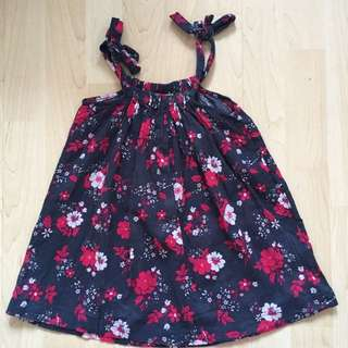 Cotton On Blue Flowery Dress