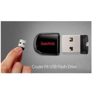SanDisk Cruzer Fit - USB Flash Drive 8G 手指U盤