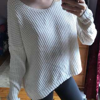 Brandy Melville Cream Sweater