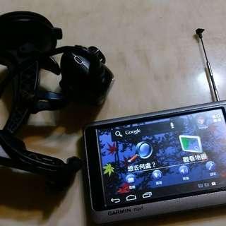 🚚 Garmin 3595 + Gar30 導航+行車記錄器+電視+平板
