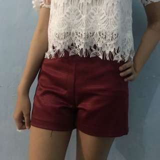 hot pants red