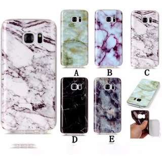 Brand New Instocks 5 Colors Designs Silicon Silicone Jelly Soft Marble Style Mobile Hand Cell Phone Casing Case Cover Apple IPhone 6/6S, 6/6S Plus, 7 & 7 Plus Samsung Galaxy Grand Prime, J5 (2016), J7 (2016), S5, S6, S6 Edge, S7, S7 Edge, S8 & S8 Plus