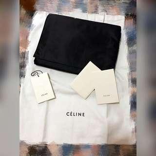 四折!Celine Black Clutch