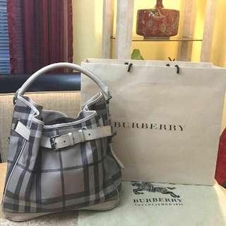 Burberry Bucket Shoulder Bag (Authentic)