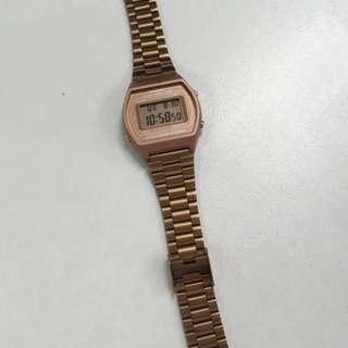 Original Rose Gold Casio Watch