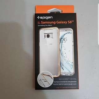 BNIB Authentic Spigen Samsung S8 Neo Hybrid Crystal