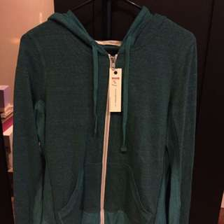Abbot + Main Zip Up Hoodie- Size Small