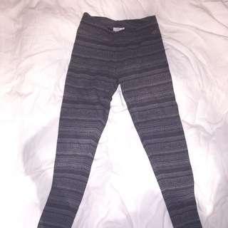 GARAGE - Tribal Print Leggings (Grey)