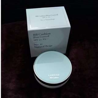 SALE Laneige BB Cushion No. 21 plus extra refill