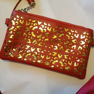 Red purse (charming charlie)