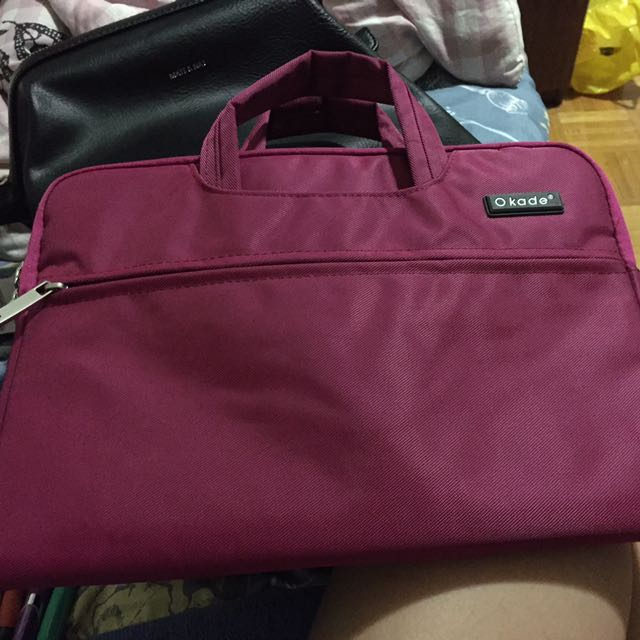 11 inch laptop sleeve dark pink