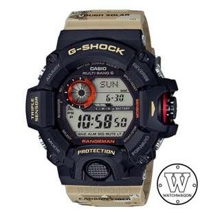Brand New Casio G-Shock Tough Solar Multiband Camo Fiber-Insert Resin Band Rangeman GW-9400DCJ-1 ..... GW-9400