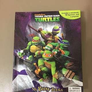 [大減價]忍者龜益智玩具圖書