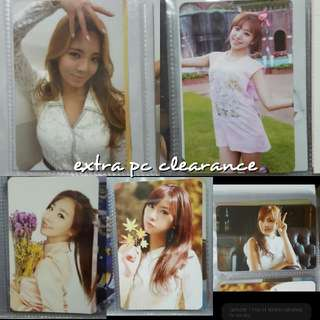 WTS: EXTRA PHOTOCARDS CLEARANCE