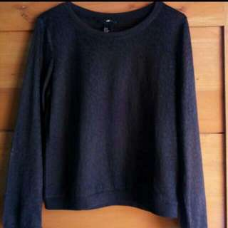 H&M Blue Top (Brand New)