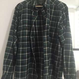 BRANDY MELVILLE OVERSIZED FLANNEL