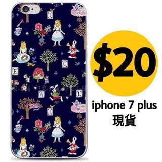 愛麗絲 iphone 7 plus 機殼 Alice in Wonderland Phone case