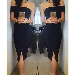 Ladies Bandage Wiggle Sheike Valentine Style Dress Size 6 8 10 12