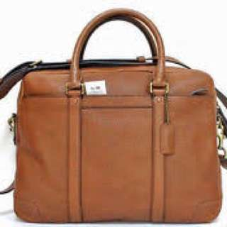 coach laptop bag large