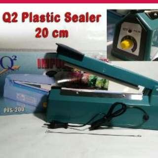 Impulse Sealer 20cm Vacum Mesin Alat Listrik Untuk Press Plastik